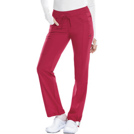 Infinity by Cherokee 1123A RED / CERTAINTY Pantalón Low-Rise Recto