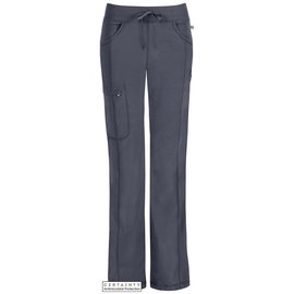 1123A PWPS / CERTAINTY Pantalón Low-Rise Recto gris
